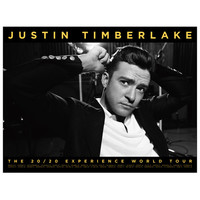 Justin Timberlake Official Store | The 20/20 Experience World Tour Not A Bad Thing Collector's Poster