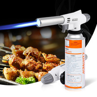 920 Wind Fully Automatic Electronic Flame Gun Butane Burners