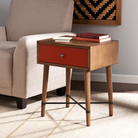 Retro Futuristic Accent Table
