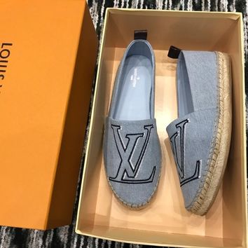 Louis Vuitton LV Women's LV Letter Fisherman Shoes