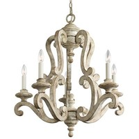 Climbing Scrolls Chandelier 5 Light - Shades of Light
