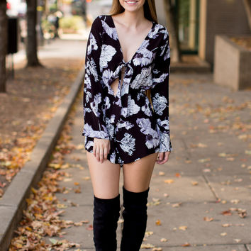 Luminous Bloom Romper