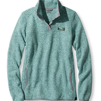 Women's Bean's Sweater Fleece Pullover | from L.L.Bean,