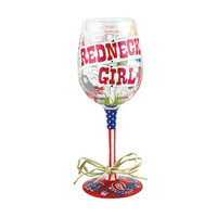 Lolita Redneck Girl Wine Glass