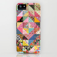 Grandma's Quilt iPhone & iPod Case by Rachel Caldwell