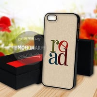 Read Book Lovers Librarian Gifts case for Samsung Galaxy S3,S4,S5/Note 2,3/iPod 4th 5th/iPhone 5,5s,5c,4,4s,6,6+[ M03 ] LG Nexus/HTC One