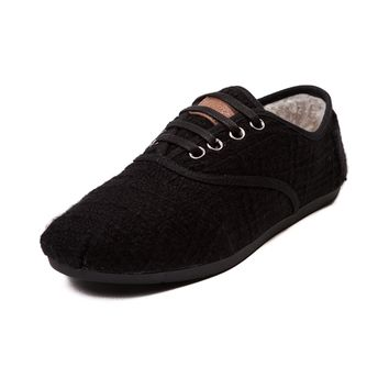 Womens TOMS Cordones Boucle Casual Shoe