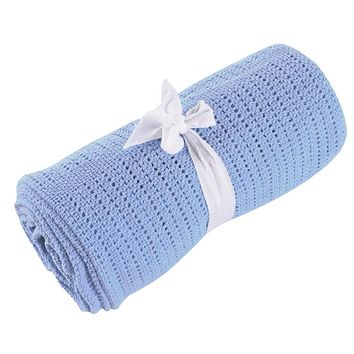 Baby Blankets - Free Shipping - Super Soft Candy Color Sleeping Blanket - Blue 80cm X 92cm