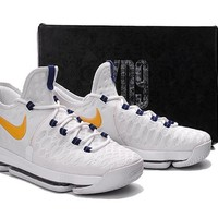Beauty Ticks 2017 Nike Zoom Kd 9 Kevin Durant ¢© Mens Basketball Shoes