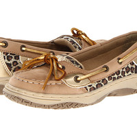 Sperry Top-Sider Kids Angelfish (Little Kid/Big Kid) Linen/Gold Leopard - Zappos.com Free Shipping BOTH Ways