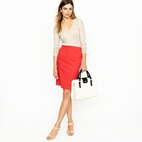 Pencil skirt in wool crepe - suiting skirts - Women's skirts - J.Crew