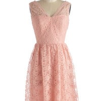 Layer on the Love Dress in Blush | Mod Retro Vintage Dresses | ModCloth.com