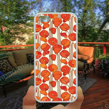 Clover flowers pink Clover  iphone 4/4s case iphone 5/5s/5c case samsung galaxy s3/s4 case galaxy S5 case Waterproof gift case 476