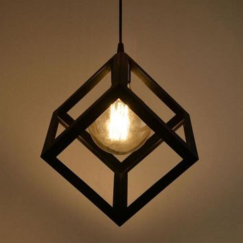 Vintage Ceiling Lamp Retro Edison Light Chandelier Lamp Pendant Lighting Hot Sale Hanging Decoration
