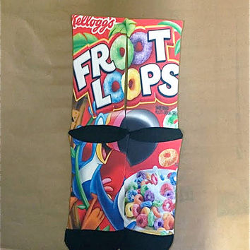 Froot Loops Basketball Socks Area 72 Kobe Lebron Kd