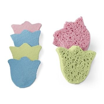 Tulip Pop Up Sponges, Set of 6
