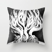 Escape Throw Pillow by Laurie A. Conley