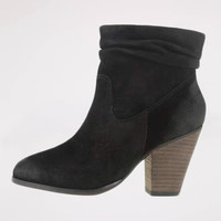 Under Cover Bootie in Black