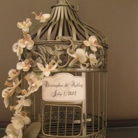 Wedding Bird Cage Card Holder | Luulla