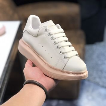 Alexander McQueen  Women Casual Shoes Boots  fashionable casual leather