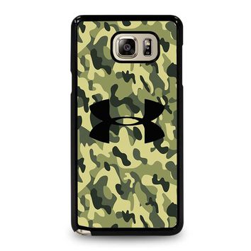 CAMO BAPE UNDER ARMOUR Samsung Galaxy Note 5 Case Cover