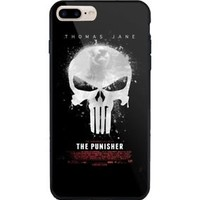 The punisher illustrated Design iPhone7 7+ 8 8+ X Hard Plastic Protect Case