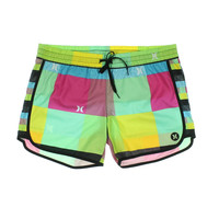 Hurley Womens Signature Colorblock Board Shorts