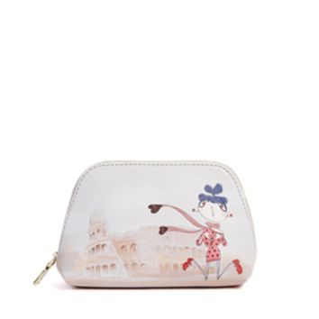 Love Moschino Roma Cosmetic Bag