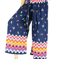 Palazzo Pants Sewing Pattern Gypsy pants Harem pants Thai pants Hippie clothes Hippie pants