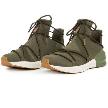 The Fierce Rope VR in Olive Night Whisper White