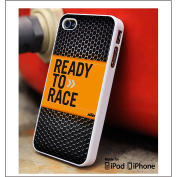 Ready To Race KTM Grill iPhone 4s iPhone 5 iPhone 5s iPhone 6 case, Galaxy S3 Galaxy S4 Galaxy S5 Note 3 Note 4 case, iPod 4 5 Case