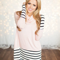 Be My Valentine Cowl Neck Tunic