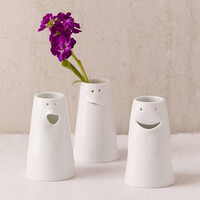 Spin Ceramics Mini Face Vase Set | Urban Outfitters