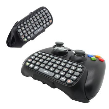 Game Accessory Wireless Text Messenger Game Keyboard Controller CHATPAD for XBOX 360 wired controller/ wireless controller