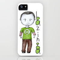 Bazinga iPhone & iPod Case by Beth Thompson