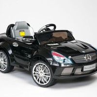 NEW UNDER MERCEDES LICENSE 2012 MODEL BLACK COLOR Kids Ride-on Power Electric Radio Remote Control Mercedes with Mp3 Function Toy Car (SL65 AMG MERCEDES)