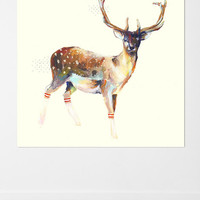Urban Outfitters - Charmaine Olivia Deer Wearing Gym Socks Wall Mural