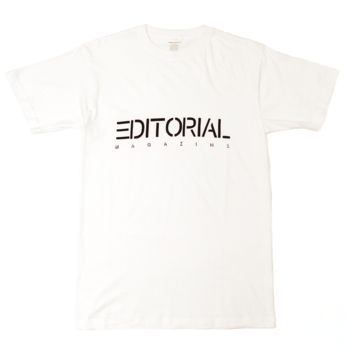Editorial Magazine Company Tee, White