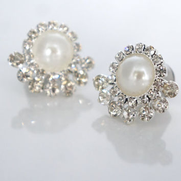 "Pearl Ear Plugs 0g 00g 7/16"" 1/2"" 9/16"" Wedding Gauges 8mm 00mm 12mm 14mm"