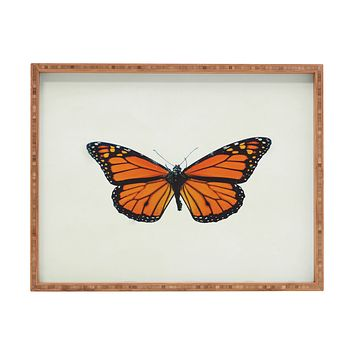 Chelsea Victoria The Queen Butterfly Rectangular Tray