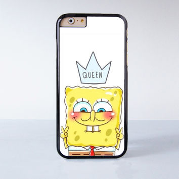Spongebob Plastic Case Cover for Apple iPhone 6S 6S Plus 6 6 Plus 4 4s 5 5s 5c