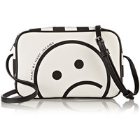 Marc by Marc Jacobs - Sally Unsmiley printed faux leather shoulder bag