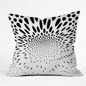 Elisabeth Fredriksson Polka Dot Spin Throw Pillow