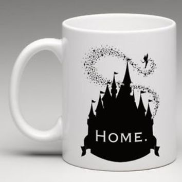 Disney Castle Home Disneyland Magic Kingdom Coffee Mug Tea Cup