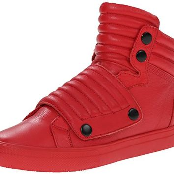 Aldo Men's Jarren Fashion Sneaker, Red, 41 EU/8 D US - ZHUNZITY