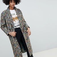 ASOS DESIGN tapestry coat | ASOS