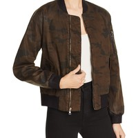HudsonPuffy Bomber Jacket
