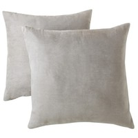 "Room Essentials® Suede Pillow 2-Pack (18x18"")"