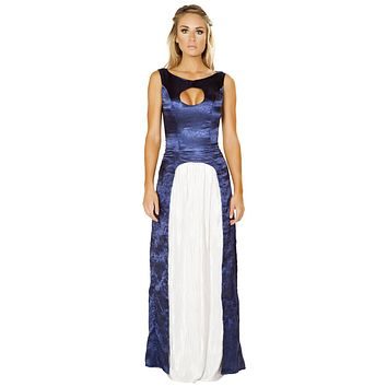 Sexy The Princess Bride Velvet Keyhole Maxi Dress
