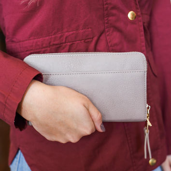 Enchanted Wallet - Light Taupe